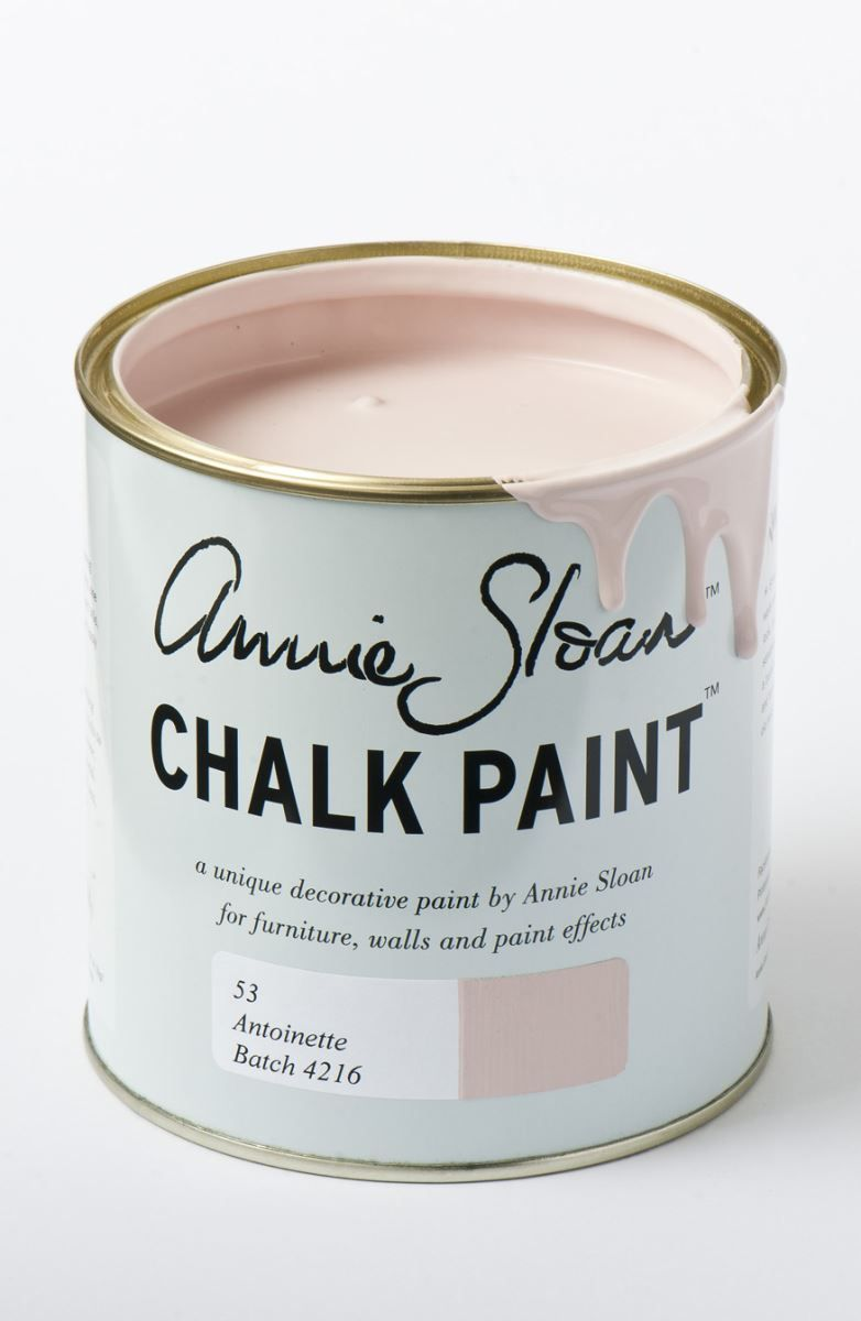 A Touch of Blush: Pretty in Pink | Hudson Valley Lighting // Antoinette by Annie Sloan: http://www.anniesloan.com/annie-sloan-products/paints/chalk-paint/antoinette-chalk-paint.html