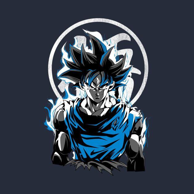 Check Out This Awesome Goku Ultra Instinct Design On Teepublic Goku Dragon Ball Ball