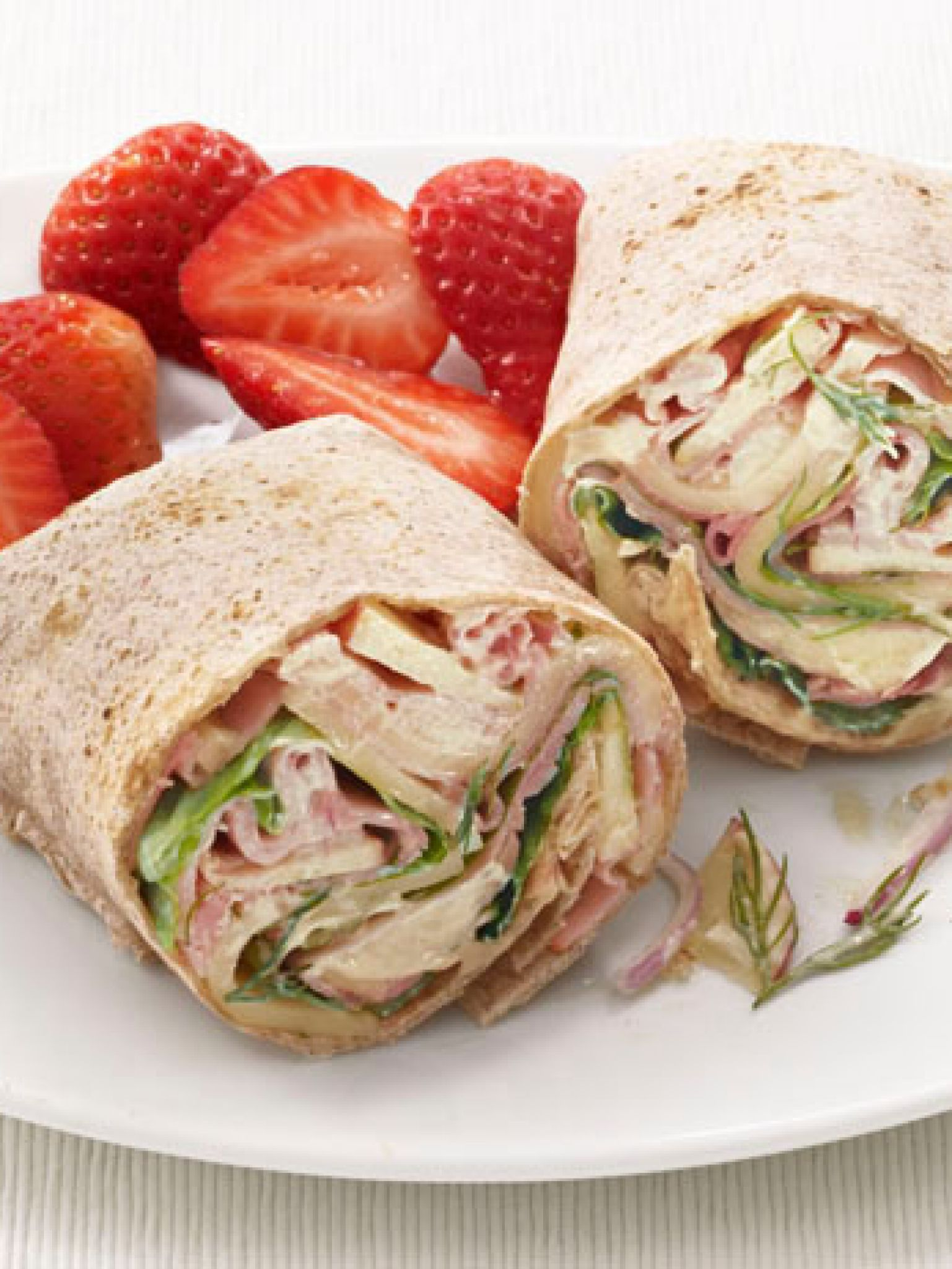 Ham swiss and apple wraps recipe hams wraps and apples dinners forumfinder Image collections