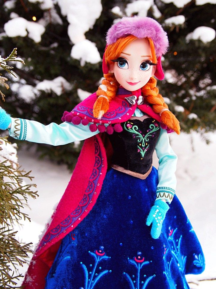 Limited Edition Snow Gear Anna Doll - Disnerd dreams