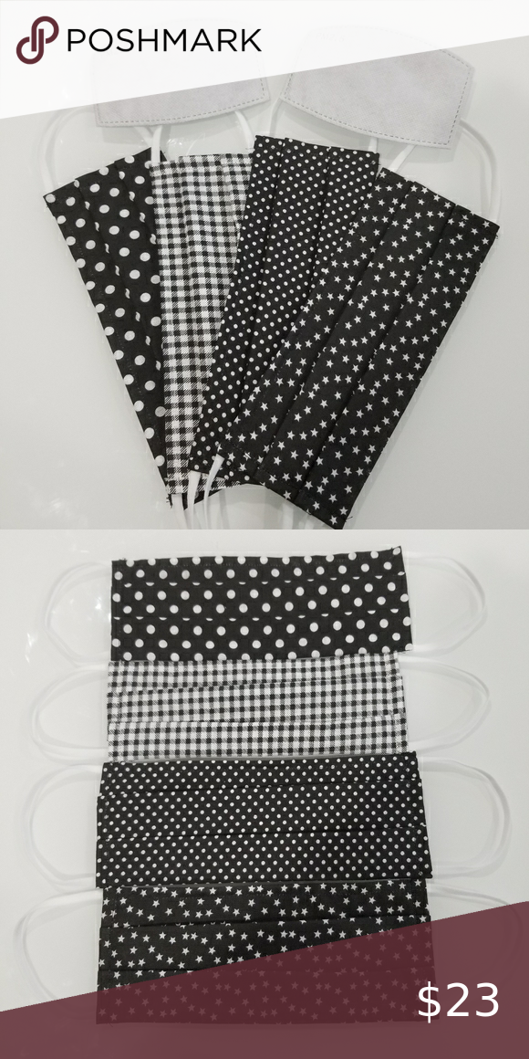 4FOR$23 HANDMADE cotton fabric face mask 4FOR$23 H