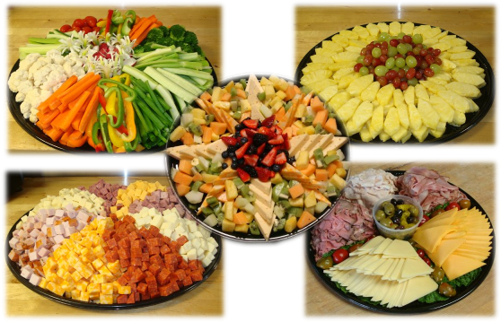 party platters this would be easy to do myself and would make a