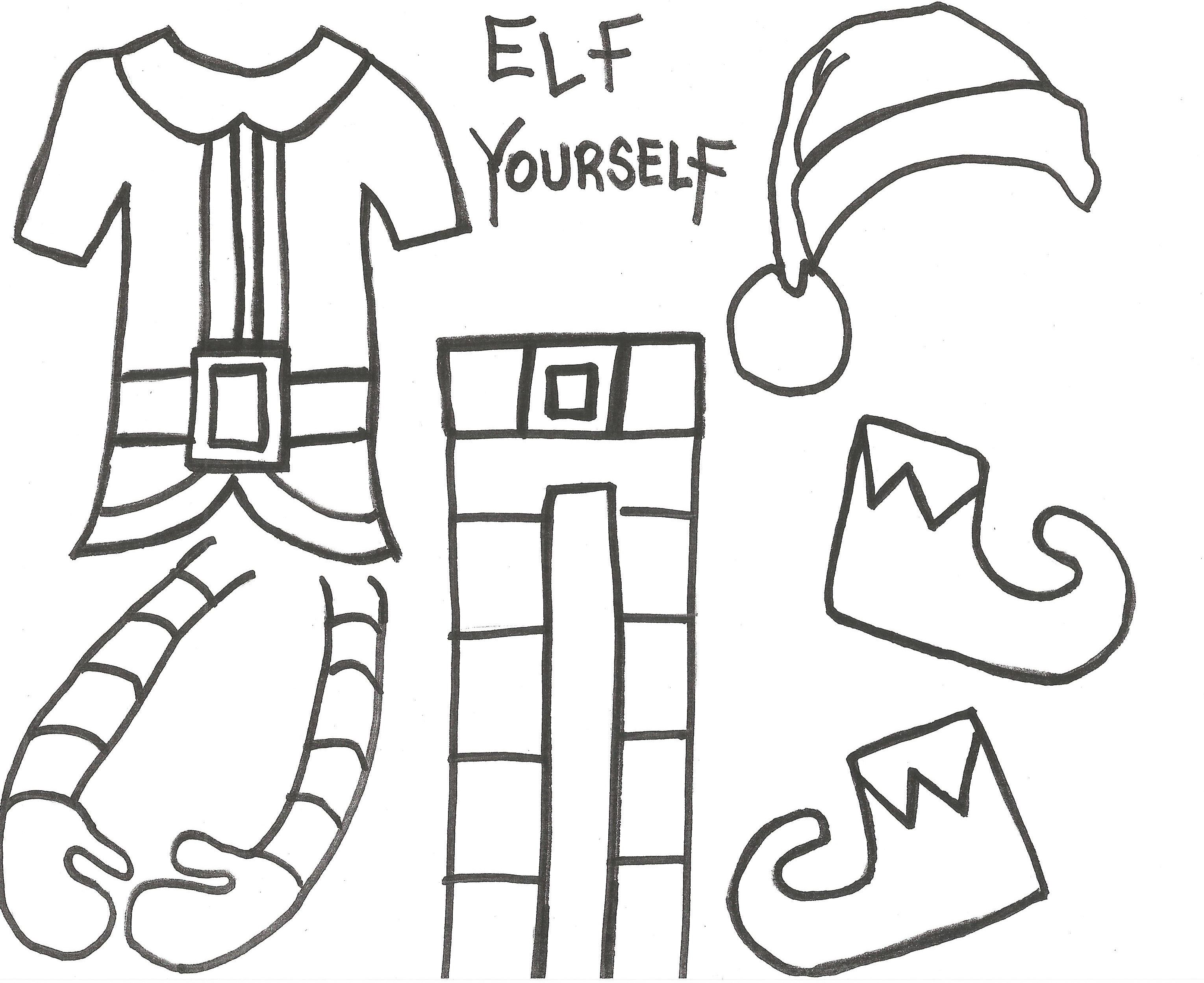 ELF YOURSELF Take up close photos of the students heads