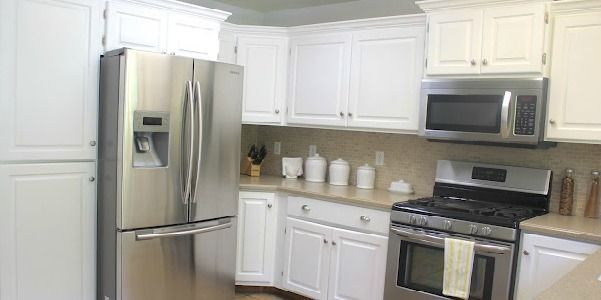 Best Small Kitchen Makeover Big Kitchen Makeover On A Small 400 x 300