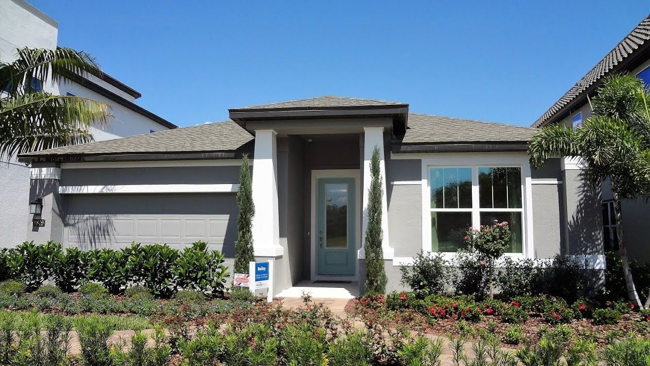 New home garden  Winter Garden New Homes  Oakland Trails by Meritage Homes  Bailey