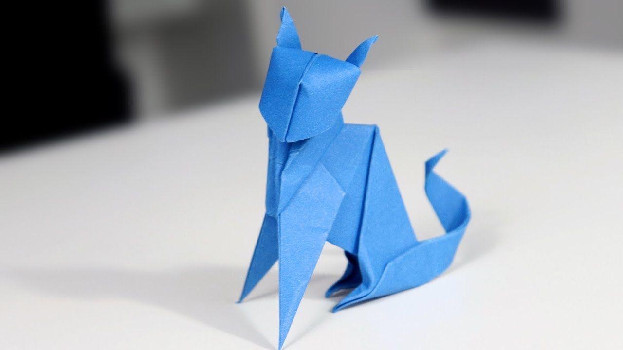 Origami Neko (cat) (Jo Nakashima) - remake - YouTube   720x1280