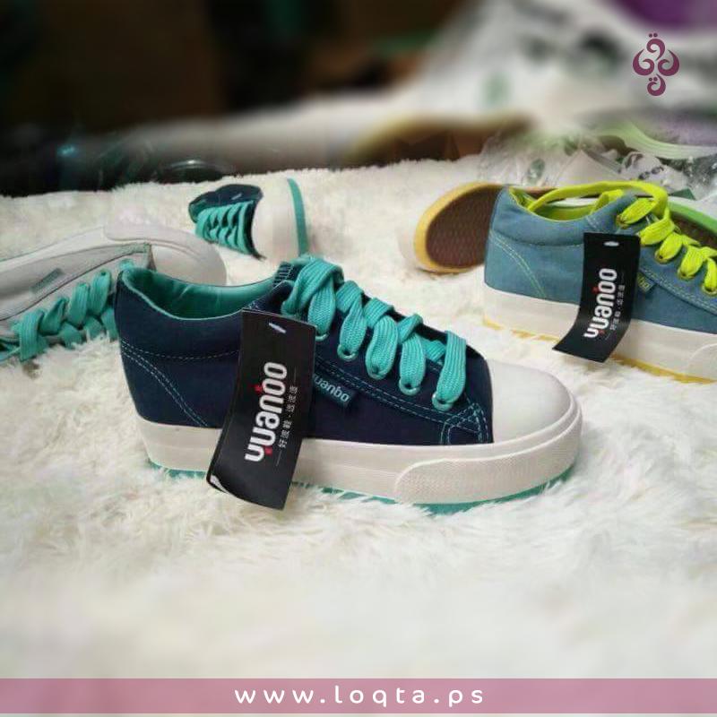 حذاء كاجوال كونفرس برباط بناتي Superga Sneaker Sneakers Shoes