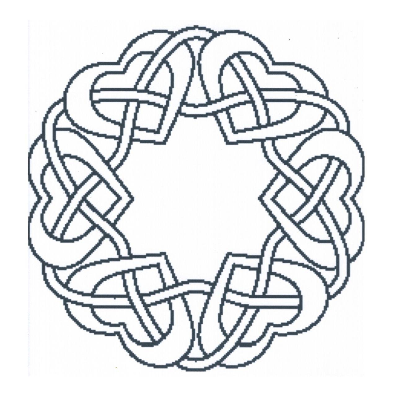 heart mandala   Diseños   Pinterest   Mandalas, Dibujo y Puntillismo