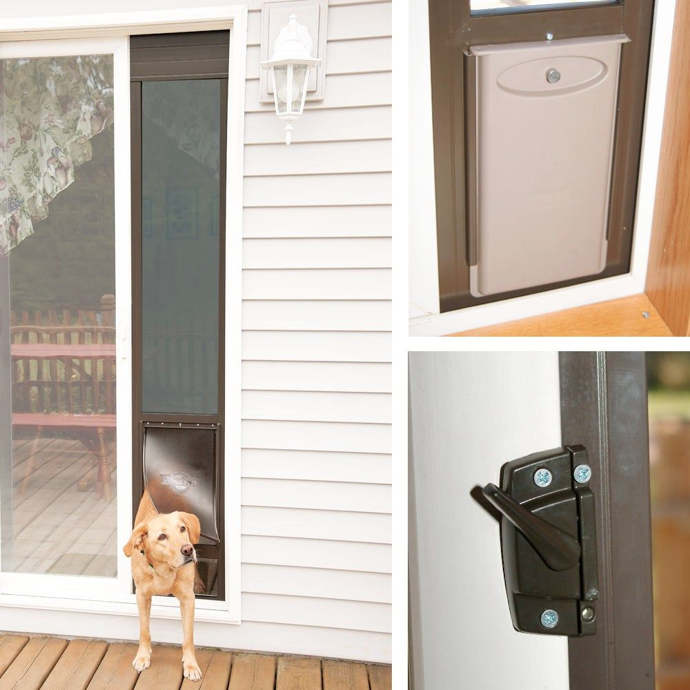 Build A Dog Door For Sliding Glass Door Patio Panel Pet Door
