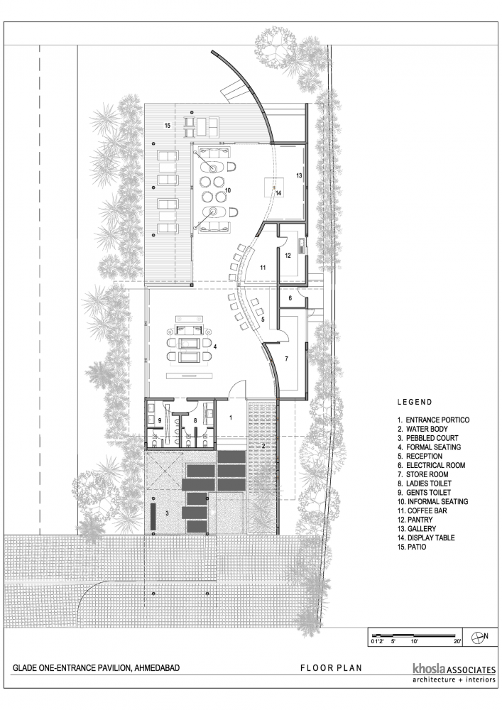 Gallery Of Visitors Entrance Pavilion At Glade One Khosla Associates 15 Arch Architecture Architecture Plan Architecture Drawing