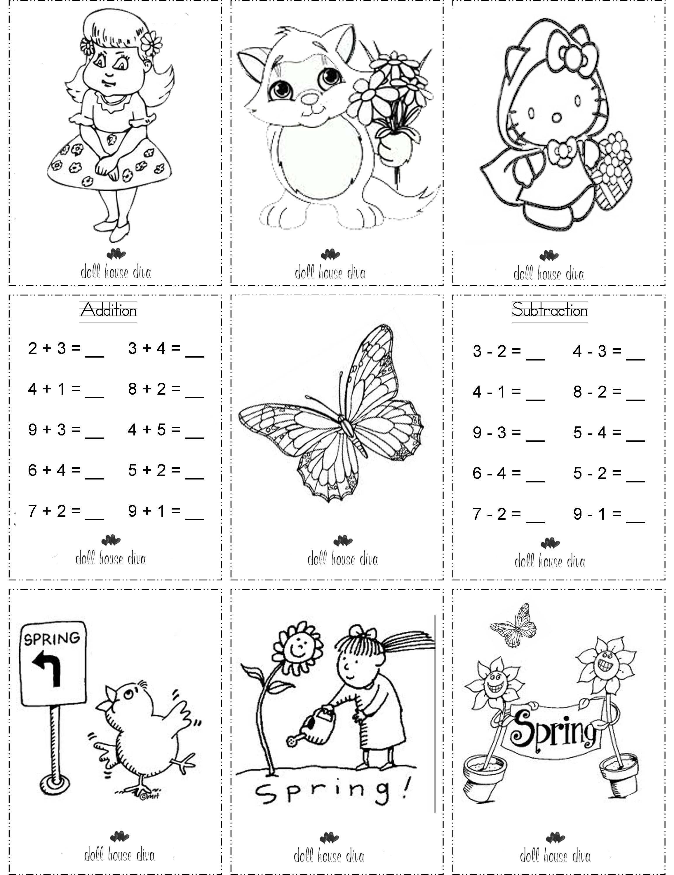AG Doll School Printables Printable Colouring Pages for