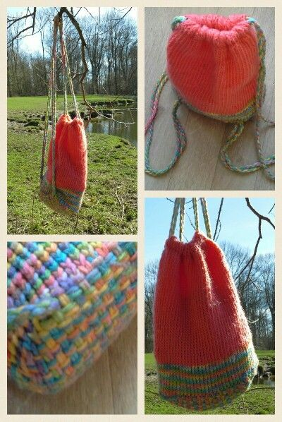 Loomknitting & weaving made by Juul | Different things