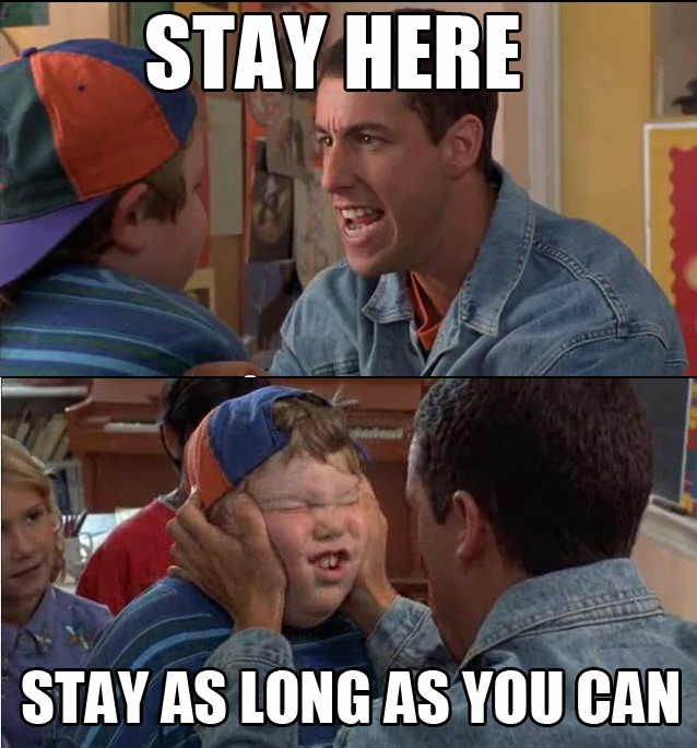 Graduated Last May This Has Never Been More Relevant Billy Madison Good Movies Adam Sandler
