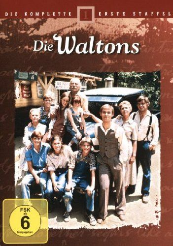 die waltons die komplette 1 staffel 6 dvds ralph waite michael learned. Black Bedroom Furniture Sets. Home Design Ideas