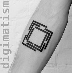 Digimatism: tatuagens neogeométricas inspiradas na tecnologia digital