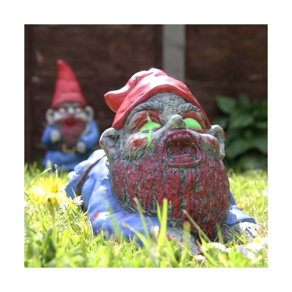 Nain de Jardin Zombie | Halloween food and stuff | Jardins ...