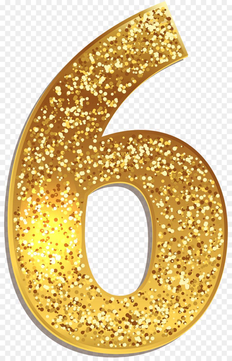 Gold Number Symbol Clip Art Number 5