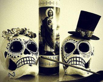 Dia De Los Muertos Sugar Skull Wedding Rush For By Worksofark