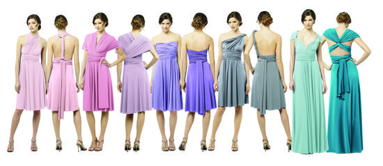 17 Best images about Dessy Twist Wrap Bridesmaid Dresses on ...