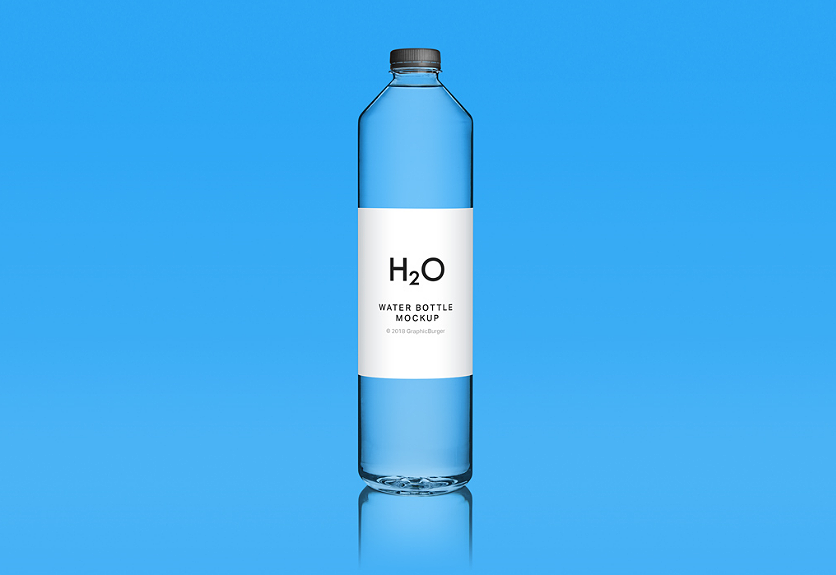 25 Realistic Water Bottle Mockup Templates Flaschen Design Flaschen Wasserflasche Design