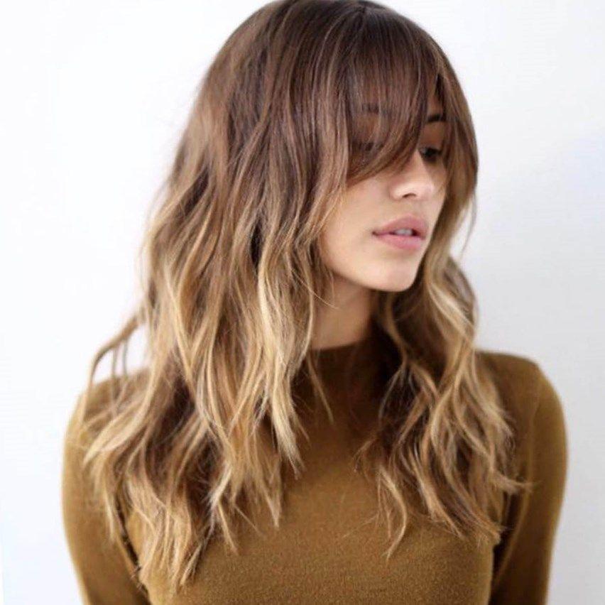 Tendencias melenas 2017 tendencias peinados pinterest - Peinados de melenas largas ...