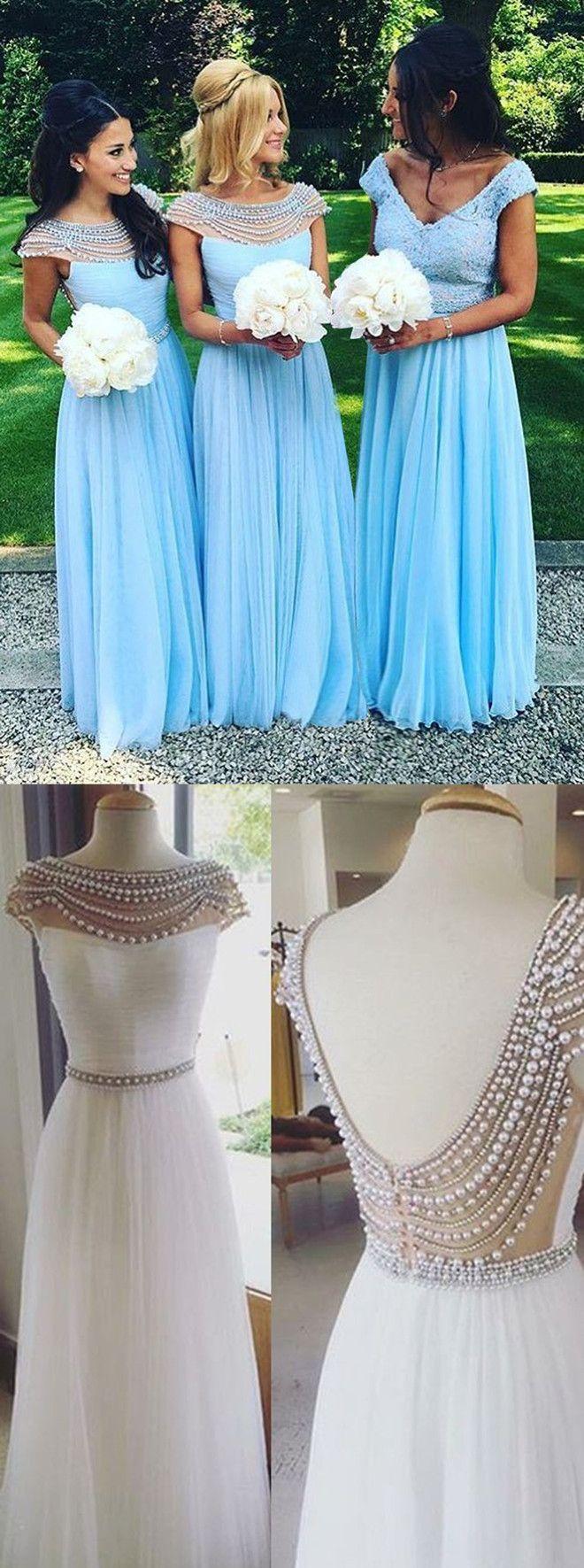 Long bridesmaid dresseslong prom dresseselegant bridesmaid dresses