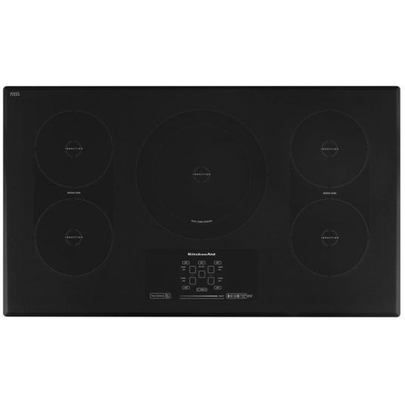 Kicu569xbl by kitchenaid electric cooktops goedekers