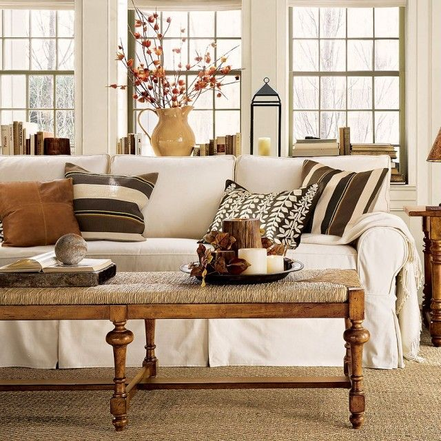 White-wall-color-glass-block-window-pottery-barn-living