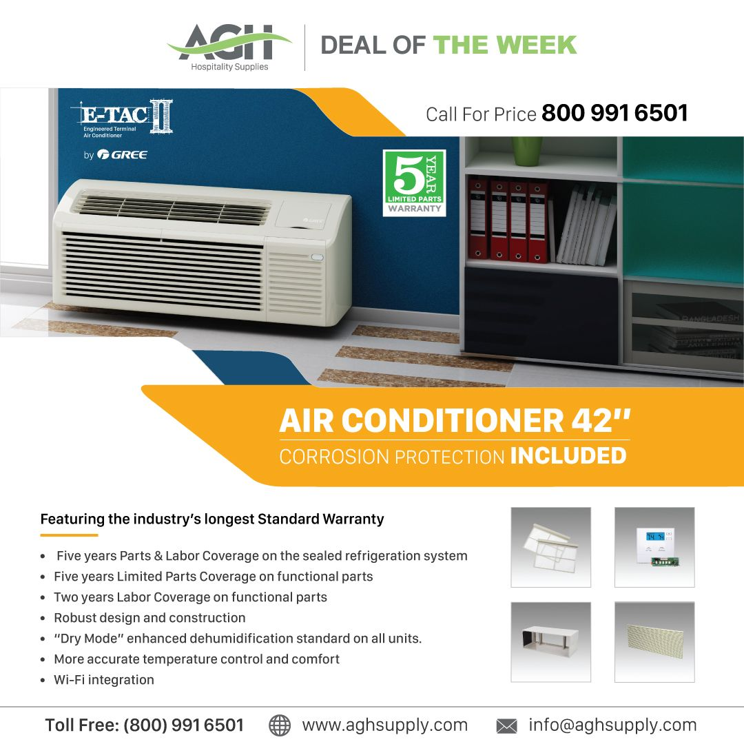 Buy Best Hotel Air Conditioner Online In Bulk Wholesale Air Conditioners Suppliers For Hotels Agh Supply Air Conditioner Hospitality Supplies Housekeeping Supplies
