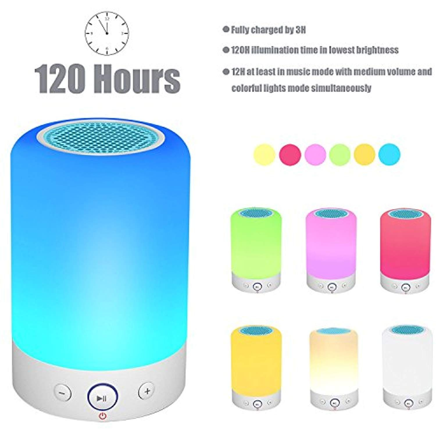 Touch Control Table Lamp With Bluetooth Speaker Led Smart Touch Lamp With Led Bluetooth Speaker S Accesorios Para Celular Accesorios Para Telefonos Parlantes