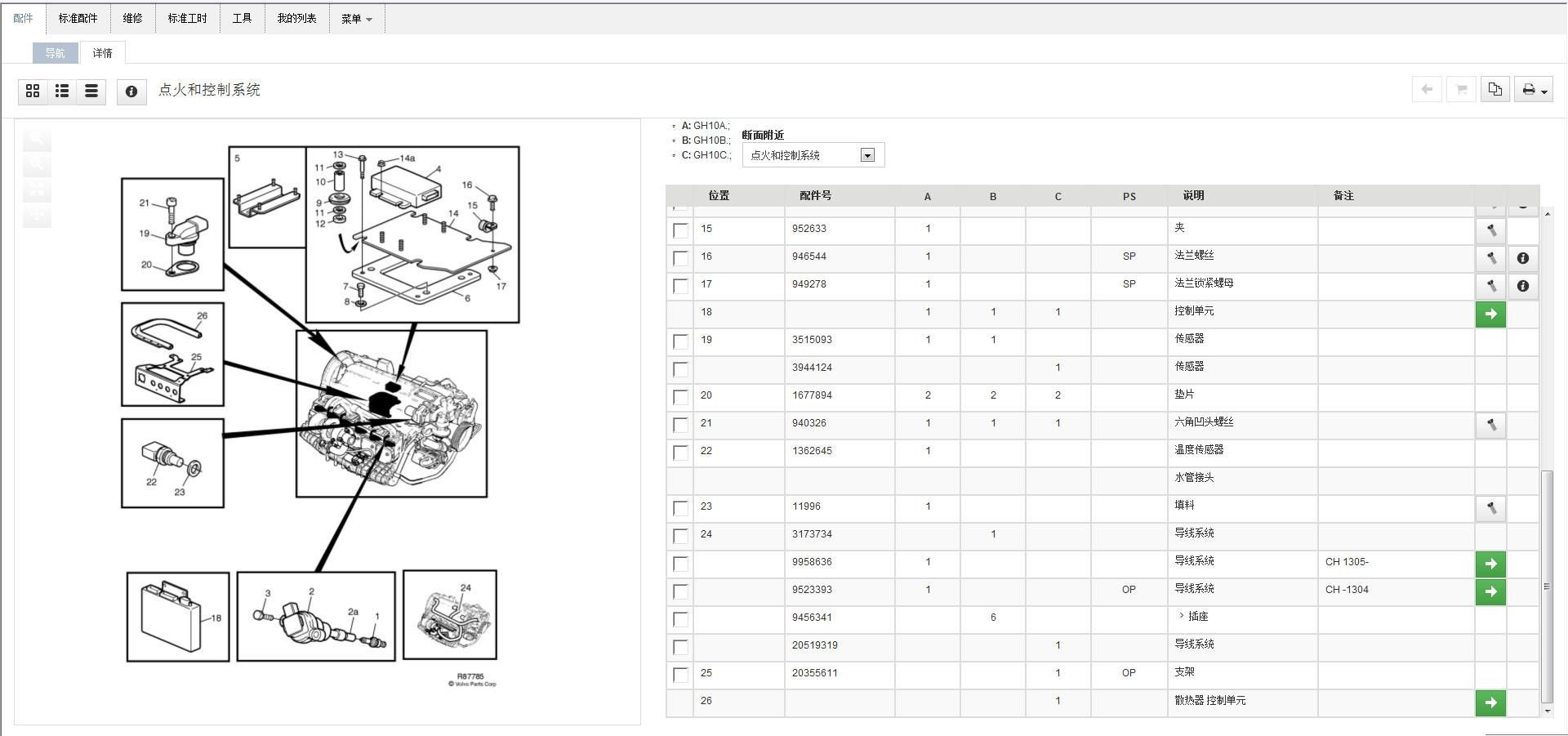 50 Volvo Truck Parts Diagram Jz3x Di 2020