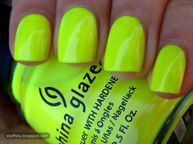 China Glaze- Yellow Polka Dot Bikini | Nails | Pinterest | Esmalte