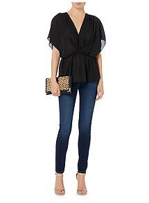 9e9c8bbab455a4 Biba Biba jacquard kimono style blouse, available at Jenners in our mall