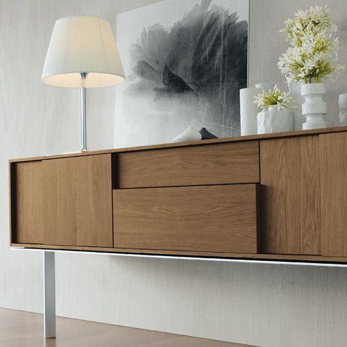 Frame quadra sideboard design sergio brioschi for Sideboard quadra