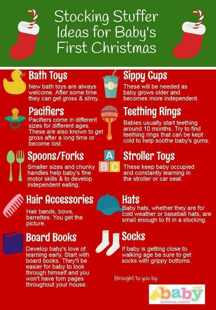 Christmas Stocking Stuffer Ideas For Baby