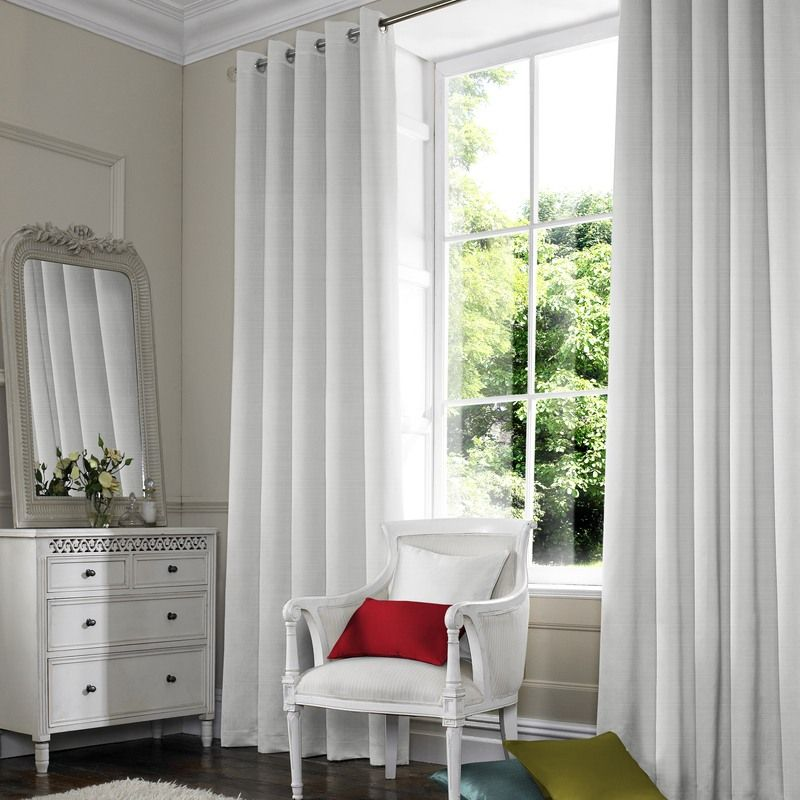 Serra Made to Measure Curtains - White