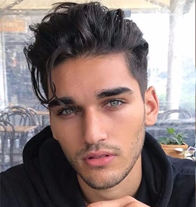 Messy Medium Undercut Menshairstyles Mens Hairstyles In 2019