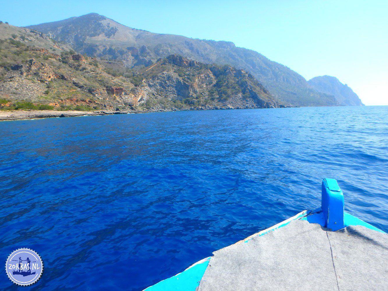 Trekking Tour Bergsteigen Reisen Griechenland Kreta Sougia Sfakia