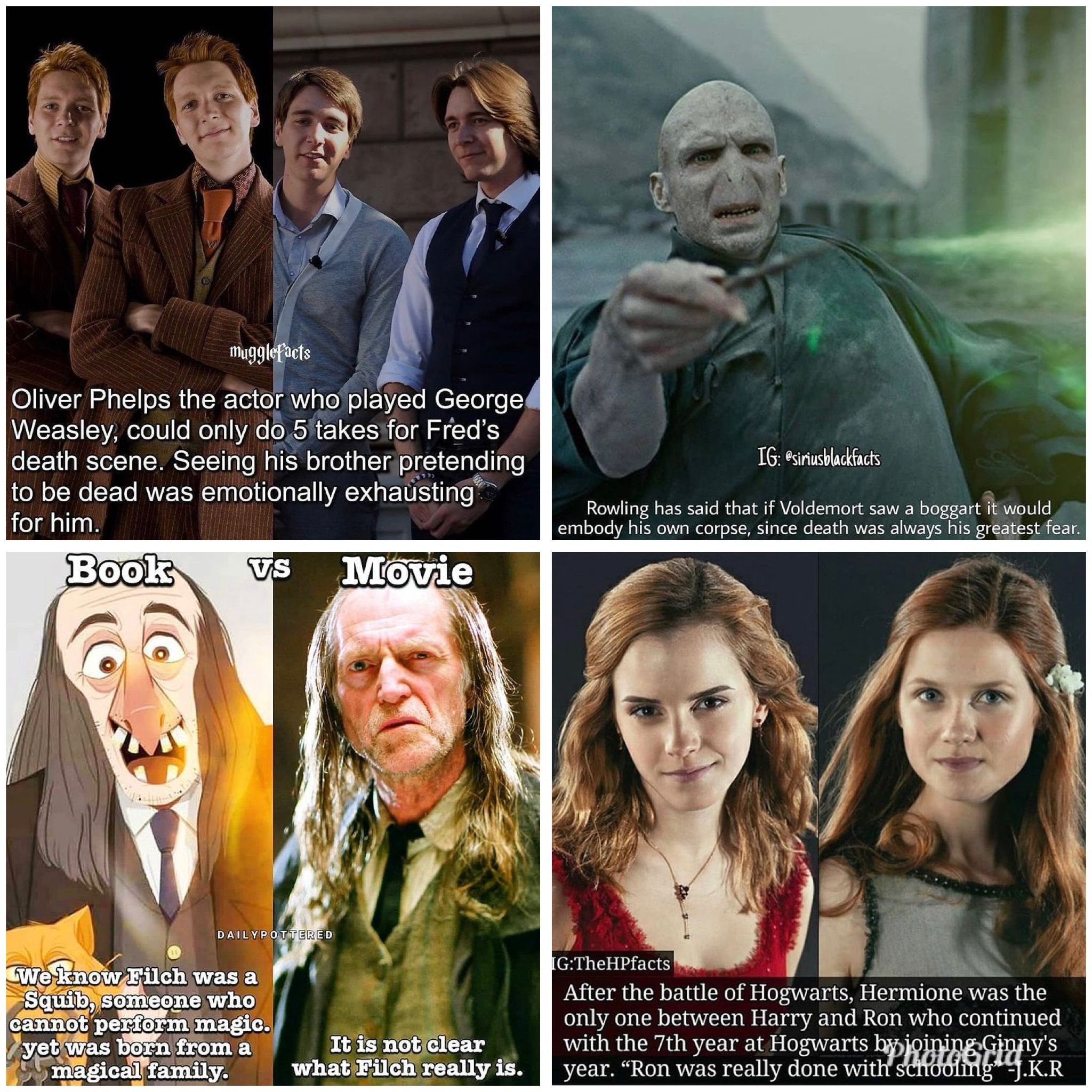 Pin By Marla Montville On Beloved Harry Potter Actors And Actress In 2021 George Weasley Oliver Phelps Harry Potter Actors