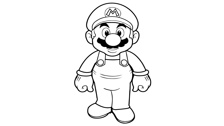 Super Mario Boyama Cocuklar Icin Boyama Videolari Boyama Oyunlari In 2020 Super Mario Brothers How To Draw Mario Mario Brothers