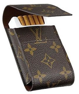 b59a1d4f92 Louis Vuitton Cigarette Case, well if you're gonna smoke do it in ...