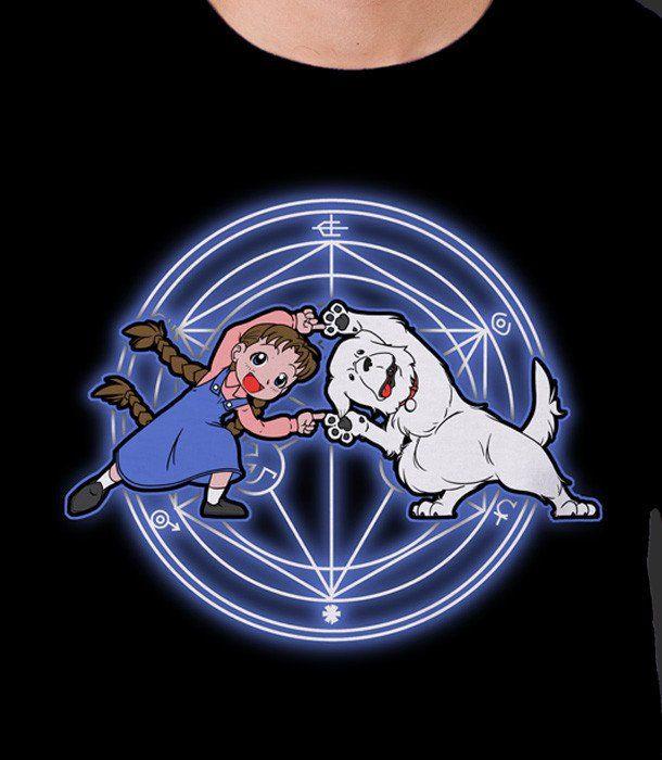 Fullmetal Alchemist Dog Girl Fusion - Full Metal