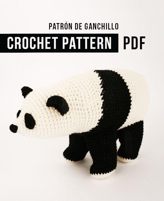 Patrón de Ganchillo en PDF / Ós Bru | crochet | Pinterest | Patrón ...