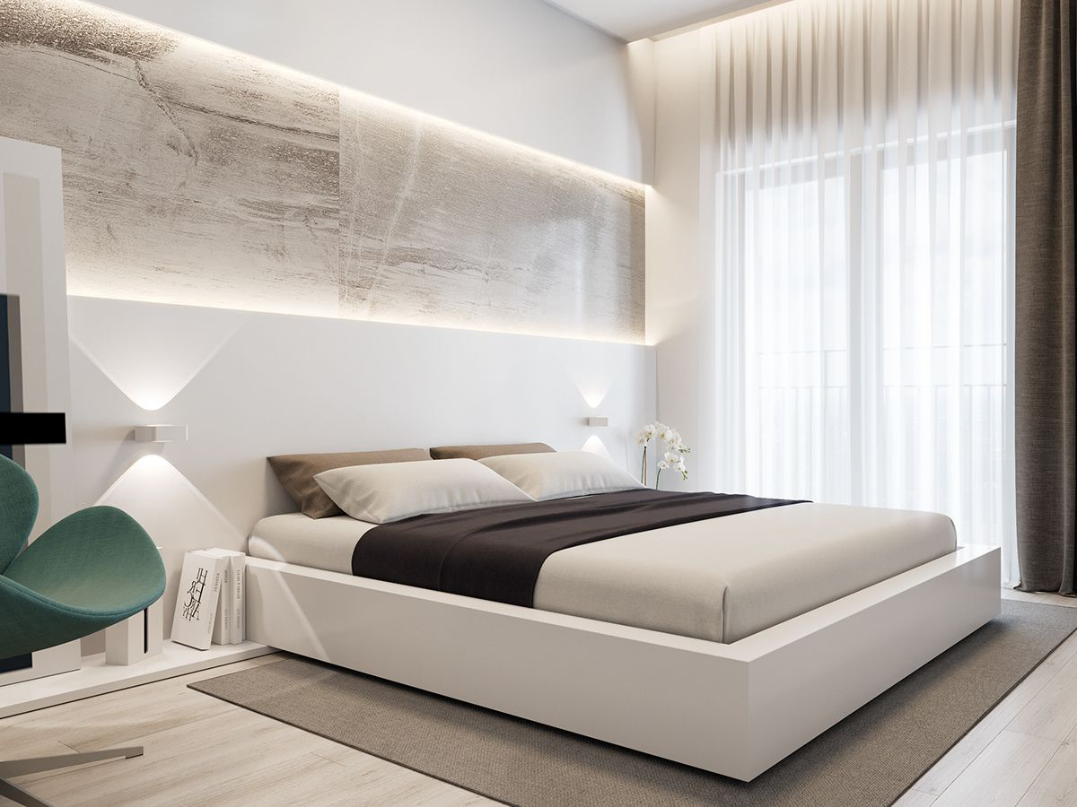 Minimalism interior 2016 on Behance   Country bedroom ...