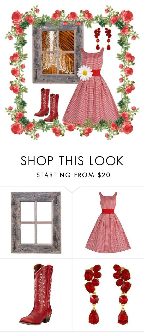 """barn"" by marypaulson5 ❤ liked on Polyvore featuring Oscar de la Renta, bestdressedguest and barnwedding"