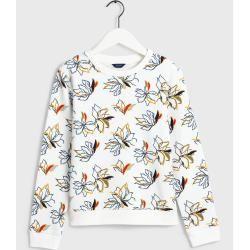 Photo of Gant All-Over Print Sweatshirt (Weiß) GantGant
