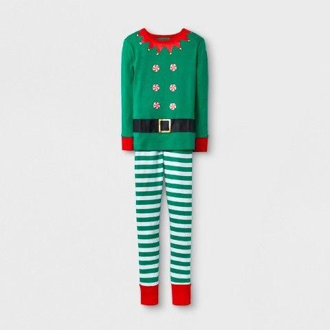 Wondershop Kids  2pc Elf Family Pajama Set - Wondershop Green  c49288d0f