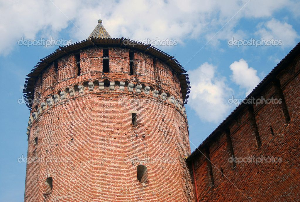 Marinkina Tower, Kolomna Kremlin, 1525, by L. Pavlov