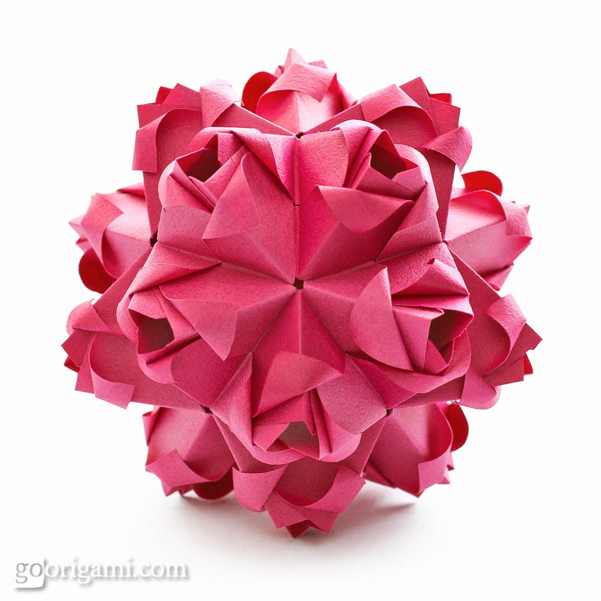 Little roses embroidery pinterest origami diagram and origami diagram for a modular origami ball little roses kusudama designed by maria sinayskaya folded with 30 rectangular sheets of paper assembled without glue mightylinksfo