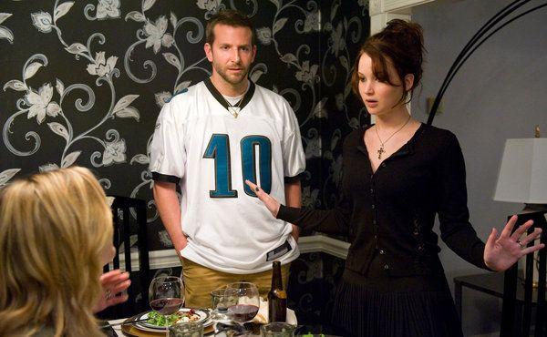 #SilverLiningsPlaybook gran historia! Jennifer Lawrence y Bradley Cooper son únicos